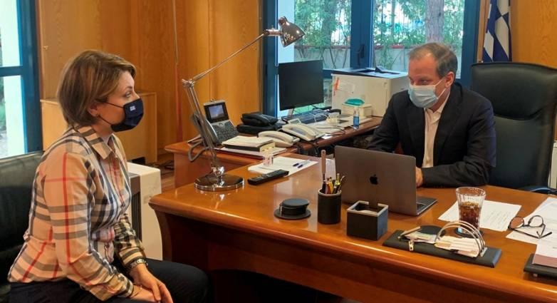 Καραμανλής σε συνάντηση με την Βουλευτή Αχαΐας κ. Αλεξοπούλου: Είπαμε πως θα γίνει η Πατρών – Πύργου και τηρούμε τη δέσμευση