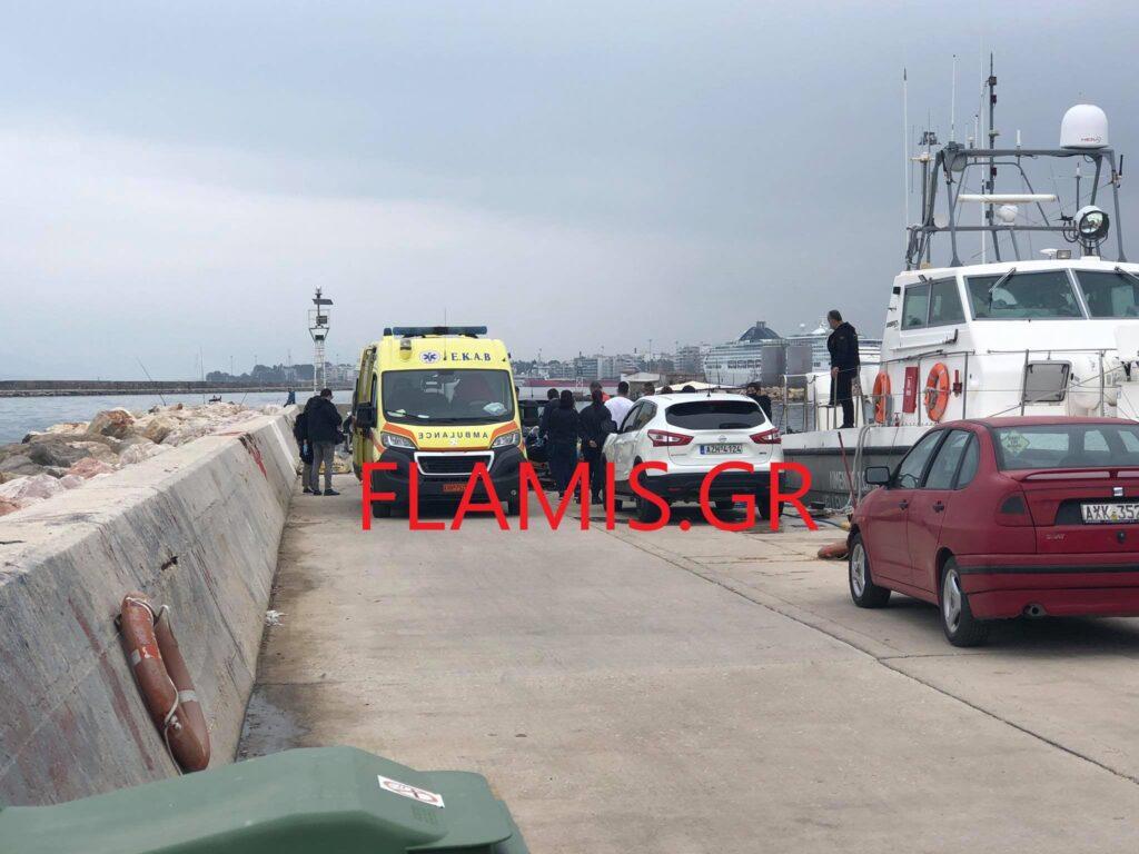 Σκηνές θρίλερ: Έκαναν βόλτα στο λιμάνι και είδαν το πτώμα του 40χρονου[Φωτογραφίες]