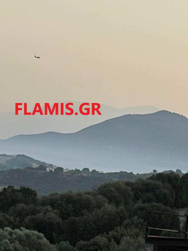 ΤΡΙΤΑΙΑ – ΤΩΡΑ: Αυτή είναι η εικόνα από την φωτιά στις 07.15 το πρωί! ΒΙΝΤΕΟ